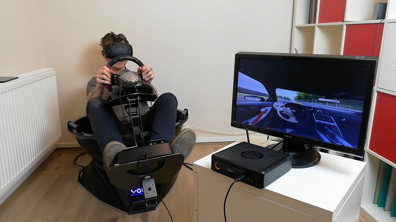 Yaw VR Game Engine for one click gaming