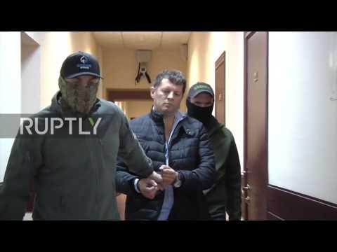 Russia: FSB arrest alleged Ukrainian spy in Moscow