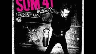 sum 41's french song ma poubelle from their album underclass hero L...