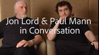 Jon Lord and Paul Mann in conversation March 2003