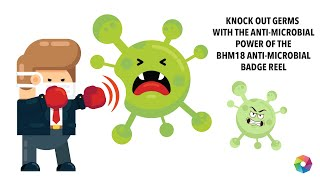 BHM18: ANTI-MICROBIAL BADGE REELS