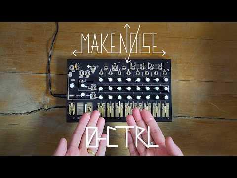 Make Noise 0-CTRL Analogue CV/Gate Touch Sequencer Demo