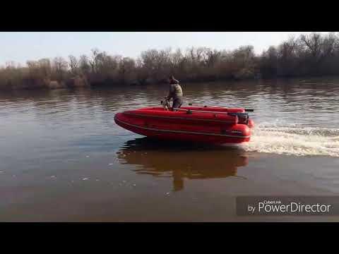 Самодельное Дистанционное управление на лодку ПВХ/Испытания на воде