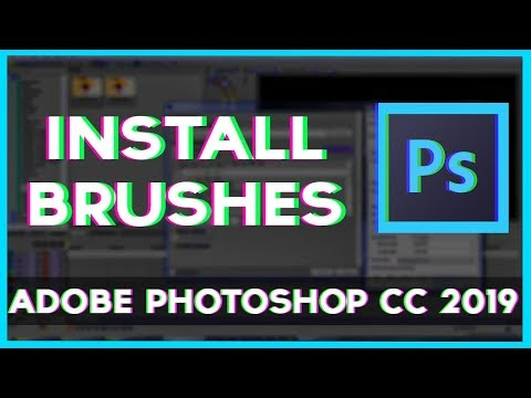 Installing Brushes On Photoshop CC 2019 - Fast And Simple Tutorial