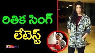 Ritika Singh Stills At GURU Theatrical Trailer Launch || Top Telugu Media