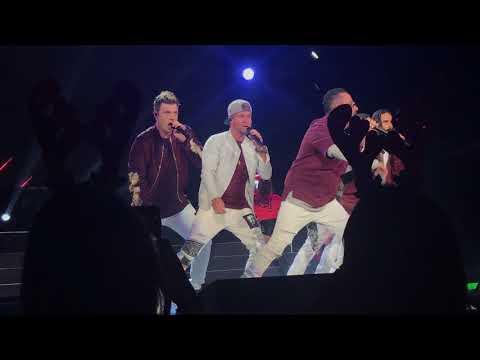 Backstreet Boys  Get Down  Kissmas 2017, Bojangles' Coliseum, Charlotte NC