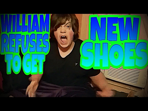 3c216ee2fbc3 WILLIAM REFUSES TO GET NEW SHOES!!! - YouTube