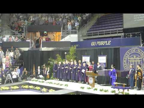 University of Washington-Bothell - Commencement Celebration June 2013 - National Anthem
