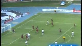 Fluminense 1 Huachipato 1 (Audio Bio Bio Deportes)  Copa Libertadores 2013 Los goles (5/3/2013)
