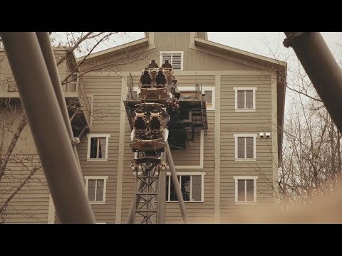 Time Traveler World's Tallest Spinning Roller Coaster Off Ride POV Teaser - Silver Dollar City