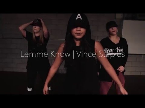 Kelly Gammie | Choreography | Lemme Know - Vince Staples