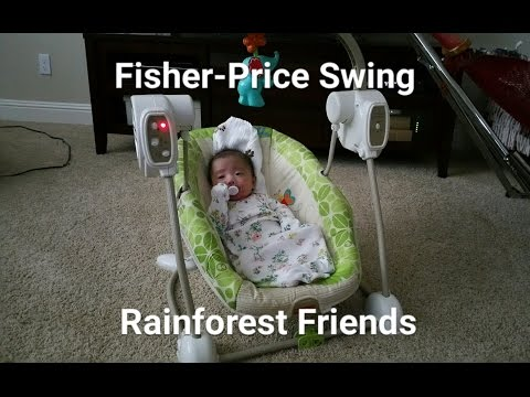 Fisher-Price Baby Swing & Seat - Rainforest Friends Review