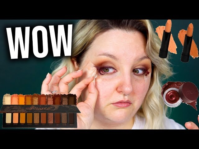 TESTING OUT THE MELT COSMETICS RUST COLLECTION.. WOW!!