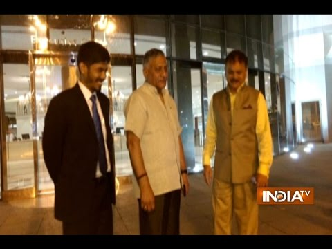 VK Singh Arrives in Jeddah to Rescue 10,000 Stranded Indians in Saudi Arabia