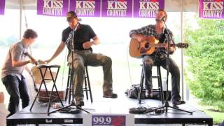"Rodney Atkins - ""Take A Back Road"" live at 99.9 Kiss Country!"