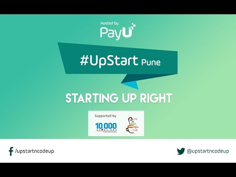 UpStart Pune - Starting Up Right