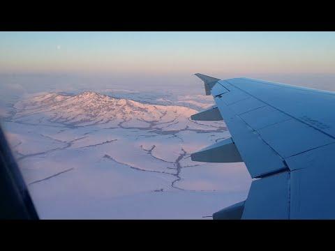 Полёт Горно-Алтайск - Санкт-Петербург (1080p)