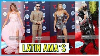 Mejor y Peor Vestidos de LATIN AMERICAN MUSIC AWARDS 2018 | LELE PONS ...