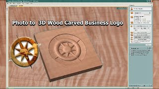 Once Lost Business Logo 3d Simulated Wood Carving Customer Review