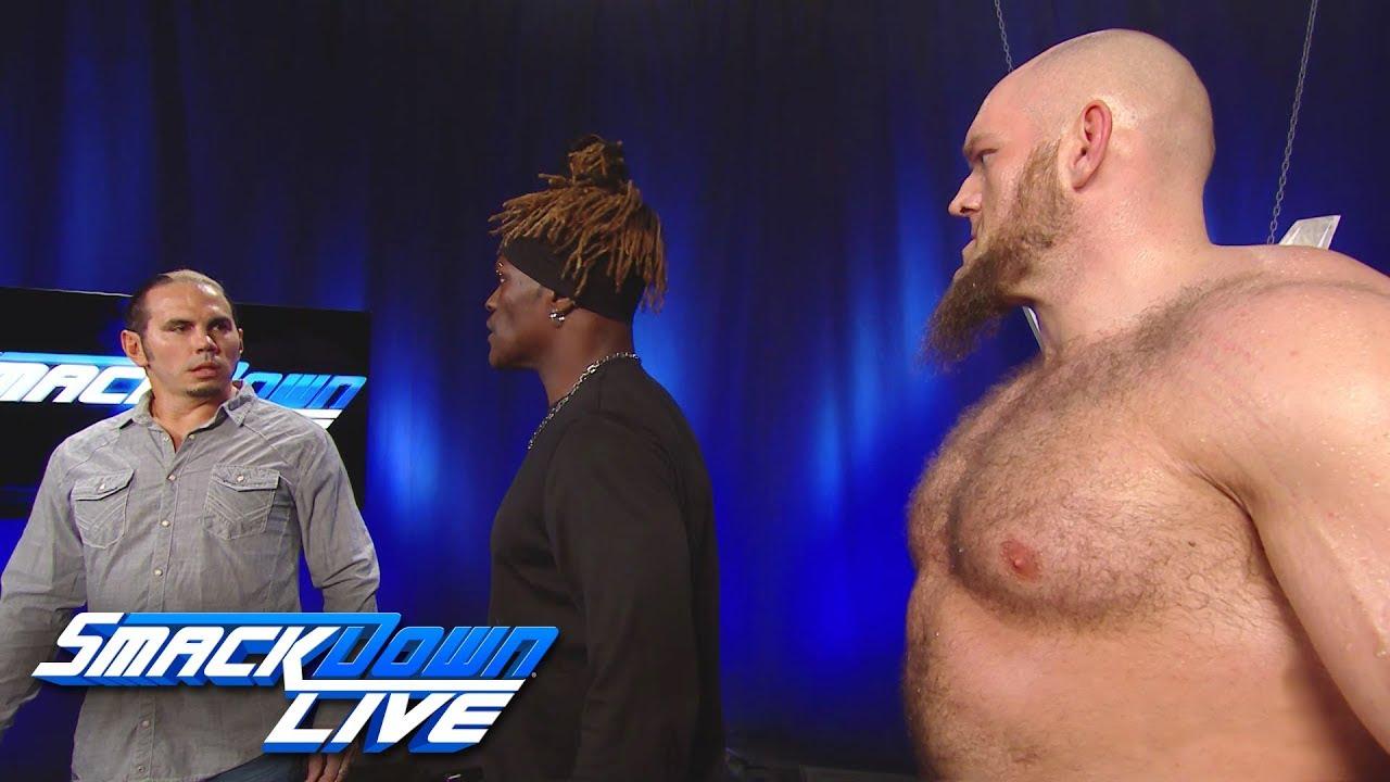 Wwe Smackdown Live Kofi Kingston In überraschungs Titelmatch