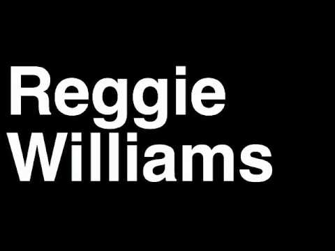 How to Pronounce Reggie Williams Charlotte Bobcats NBA Basketball Player Runforthecube