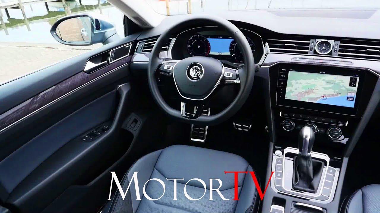 All New 2018 Volkswagen Arteon Elegance L Interior Beauty Shots