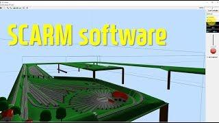 SCARM #11 철도모형기차 레이아웃 계획 및 시뮬레…
