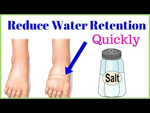 6 Tips To Reduce Water Retention Problem