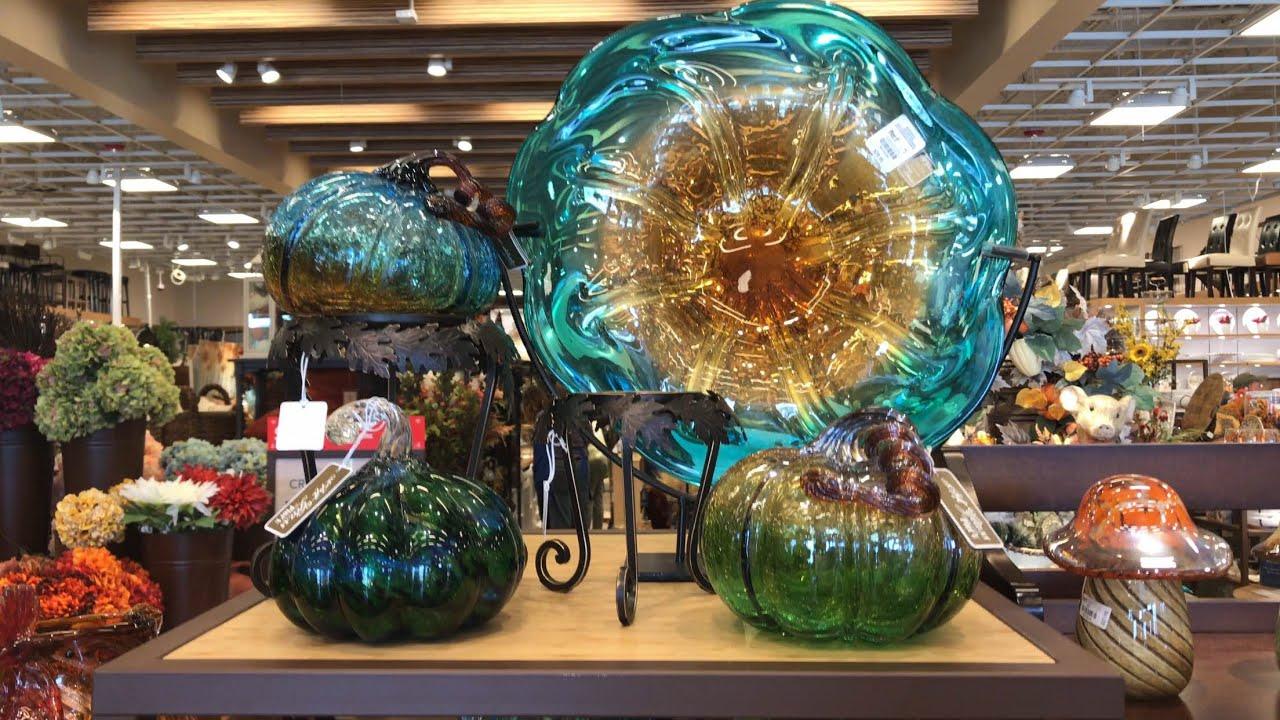 817 2017 halloween merchandise sighting 22 pier 1 imports glass pumpkin display - Pier 1 Halloween