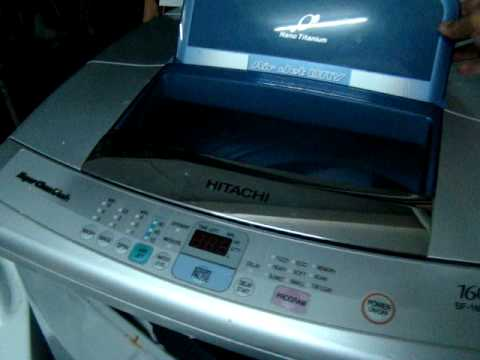 Hitachi washing machine crash on
