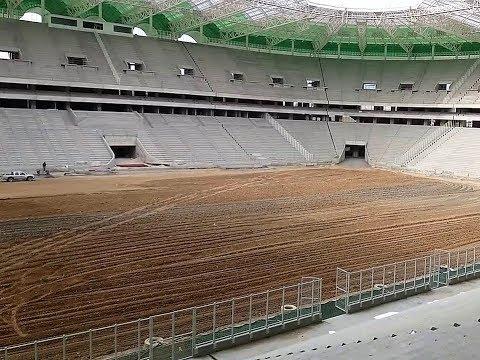 TIZI STADIUM TERRAIN PRES POUR LE GAZON