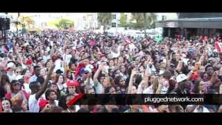 Anuel - B.o.B & T-Pain -Ja rule performing @ POWER 95.3's Festival Calle Orange 2013