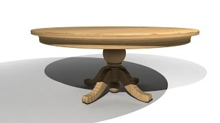 How to UV Map and Texture a table in Maya 2015