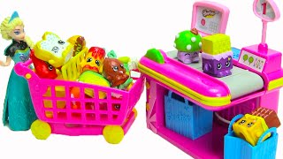 Shopkins Small Mart Playset with 2 Exclusive Shopkins