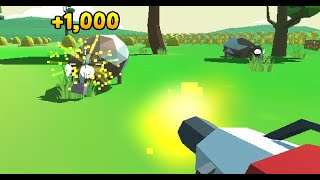 Machine Gun Gardener Full Gameplay Walkthrough