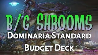 Mtg Budget Deck Tech BG Saprolings in Dominaria Standard