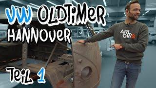 Die heiligen Hallen von VW Nutzfahrzeuge Oldtimer! - Bulli Restauration Teil 1 | Philipp Kaess |