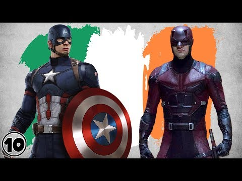Top 10 Irish Superheroes