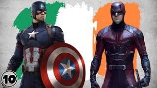 Top 10 Irish Superheroes