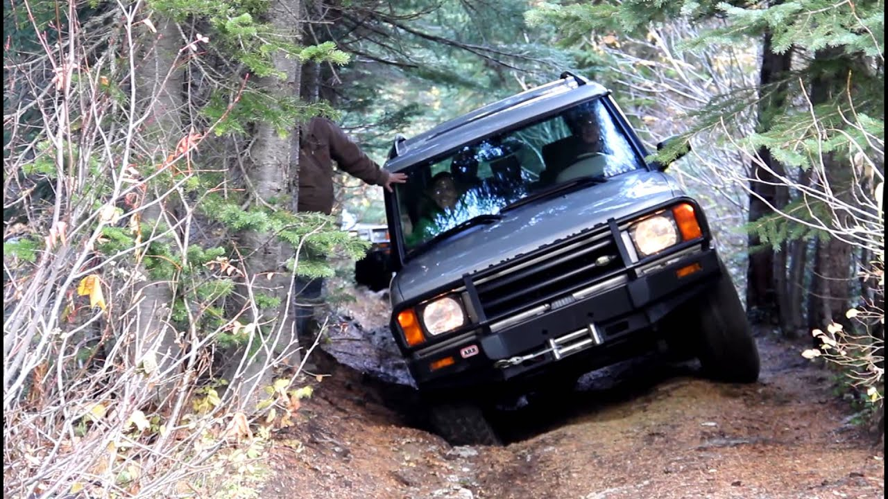 Land Rover Discovery 2 Trail Run South of Mullan ID