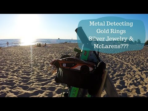 Metal Detecting Finding [Lake Michigan] Gold, Silver, and McLarens