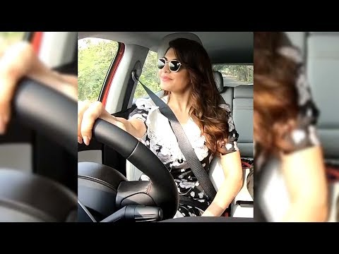 Jacqueline Fernandez drives us around in her new Jeep Compass!