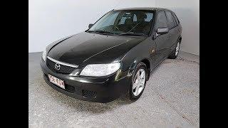 (SOLD) Sporty Hatchback Mazda 323 Astina Manual 2003 Review