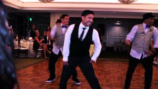 Best Groomsmen Dance Ever!!! - Love Never Felt So Good (Gust...