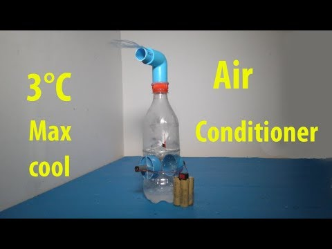 How to make 3°C air conditioner , Amazing air cooler , super cool 3°C