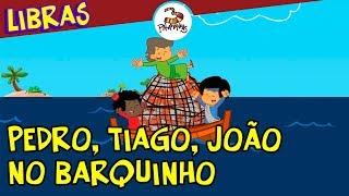 Pedro, Tiago, João no barquinho em Libras - 3Palavrinhas - Volume 4 thumbnail