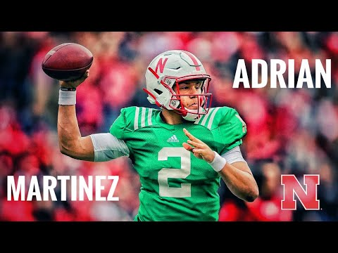 Adrian Martinez ULTIMATE Spring Game Highlights!!