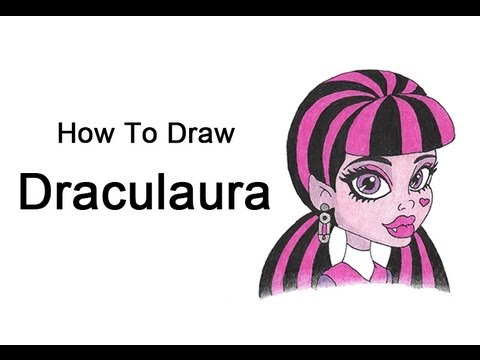 learn how to draw monster high characters
