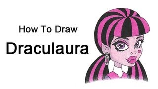 How to Draw Draculaura (Monster High)
