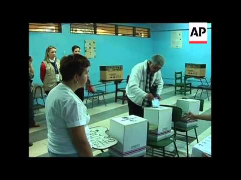Voting under way in presidential elections